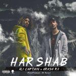 Ali Captain Ft Arash R2 – Harshab